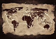 Globale interactie Royalty-vrije Stock Fotografie