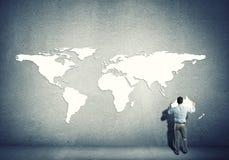 Globale interactie Royalty-vrije Stock Afbeeldingen