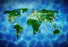 Globale Interaktion Lizenzfreie Stockbilder