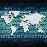 Globale Internet-Kommunikationen Lizenzfreie Stockbilder