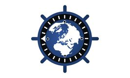 Globale Internetsicherheit Stockbild