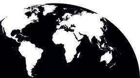 Globale Kaart Royalty-vrije Stock Foto's