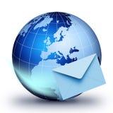 Globale Kommunikation stock abbildung