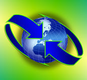 Globale Kommunikation Lizenzfreies Stockfoto