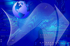 Globale Kommunikation Lizenzfreie Stockbilder