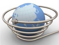 Globale Kommunikation Lizenzfreies Stockbild