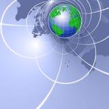Globale Kommunikation Stockfoto