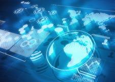 Globale Kommunikationen Lizenzfreie Stockfotos