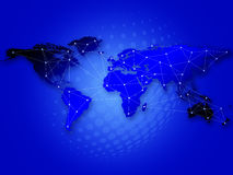 Globale Kommunikationen Stockbilder