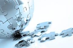 Globale Lösung Lizenzfreie Stockfotos