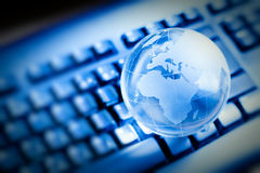 Globale mededeling Royalty-vrije Stock Afbeelding