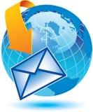 Globale mededeling stock illustratie