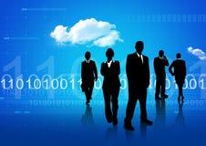 Globale mededeling Stock Foto