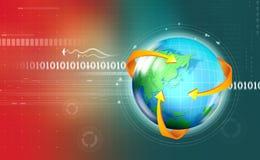 Globale mededeling Stock Afbeeldingen