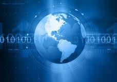 Globale mededeling Royalty-vrije Stock Foto's
