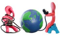 Globale Mededelingen Stock Foto's