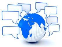 Globale mededelingen royalty-vrije illustratie