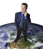 Globale mededelingen stock fotografie