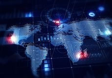 Globale Medientechniken stockfotografie