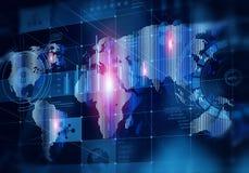 Globale Medientechniken stockfotos