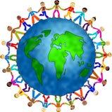 Globale mensen Royalty-vrije Stock Foto