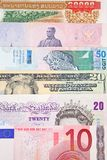 Globale Munt Royalty-vrije Stock Foto's