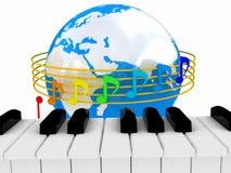 Globale Musik Stockfotos