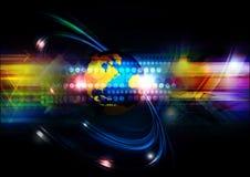 Globale netwerktechnologie Royalty-vrije Stock Afbeeldingen