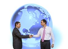 Globale Overeenkomst Royalty-vrije Stock Foto