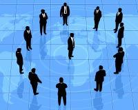 Globale Partnerschattenbilder Lizenzfreies Stockbild