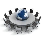 Globale politiek, diplomatie, strategie, milieu, Royalty-vrije Stock Afbeeldingen