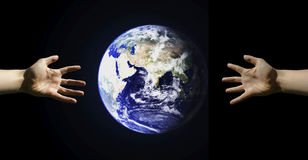 Globale Reichweite Lizenzfreie Stockfotografie