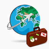 Globale Reise stock abbildung