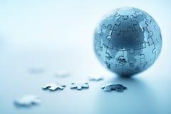 Globale Strategie royalty-vrije stock foto