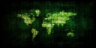 Globale Strategie stock illustratie