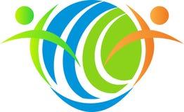 Globale symboolmensen Stock Afbeeldingen