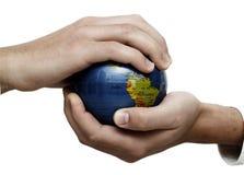 Globale Teamwork Stockfoto