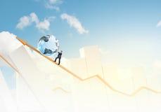 Globale technologieën Stock Afbeelding