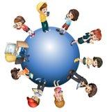 Globale technologie vector illustratie