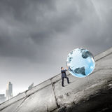Globale Technologien Lizenzfreies Stockbild