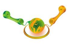 Globale telecommunicatie Stock Fotografie