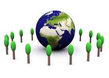 Globale Umgebung (Europa) Lizenzfreie Stockfotografie
