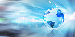 Globale Unternehmensplanung Lizenzfreie Stockfotos