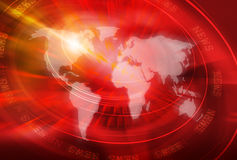 Globale Verbindings Achtergrondconceptenreeks 13 vector illustratie