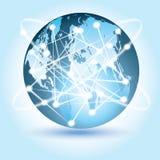 Globale Verbonden Technologieën royalty-vrije stock afbeeldingen