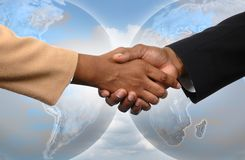 Globale Vereinbarung stockfotografie