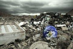 Globale Verunreinigung Stockbild