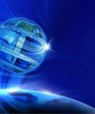 Globale virtuelle Galerie Lizenzfreies Stockbild