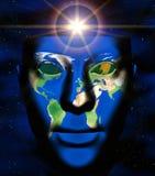 Globale visie vector illustratie
