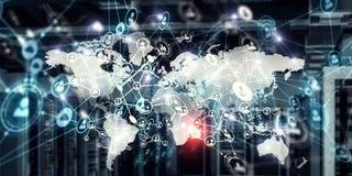 Globale voorzien van een netwerkzaken Stock Fotografie